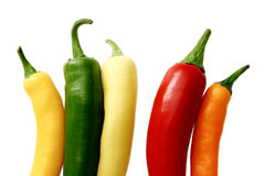 Assorted peppers 2 stock image