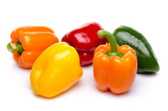 Assorted peppers Stock Photo