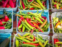 Assorted Peppers Stock Photos