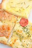 Assorted pizza slices closeup Royalty Free Stock Photography