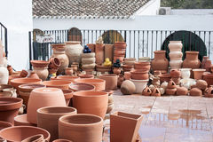 Assorted pottery Stock Photography