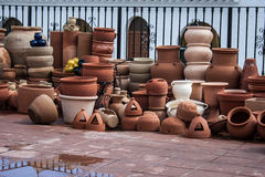 Assorted pottery Royalty Free Stock Photo
