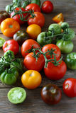 Assorted ripe tomatoes Royalty Free Stock Photo