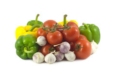 Assorted ripe vegetables close up Stock Photo