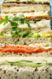 Assorted Sandwiches Stock Photo