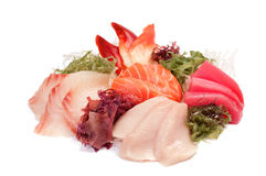 Assorted Sashimi Royalty Free Stock Photography