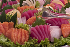 Assorted Sashimi Stock Photos