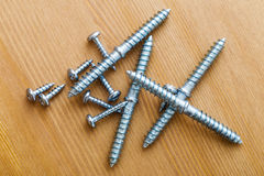 Assorted Screws Royalty Free Stock Images