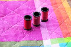 Assorted sewing Royalty Free Stock Images
