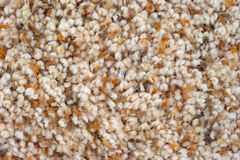 Assorted shades of brown plush carpeting. A very close view of plush carpeting in assorted shades of brown stock images