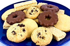 shortbread assortment  Royalty Free Stock Photos