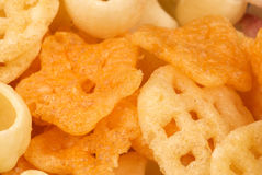 Assorted snacks Stock Photography