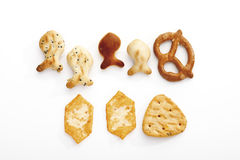 Assorted snacks Royalty Free Stock Images