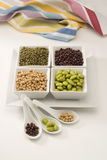 Assorted soy beans. Royalty Free Stock Photo
