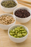 Assorted soy beans. Stock Photography
