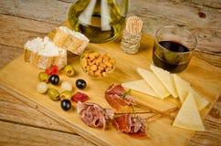 Assorted Spanish snacks Royalty Free Stock Photo
