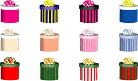 Assorted Special Occasion Gifts Royalty Free Stock Photo