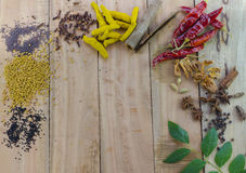 Assorted spices Royalty Free Stock Image