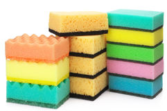 Assorted sponges Royalty Free Stock Image