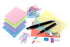 Assorted stationery Royalty Free Stock Photo