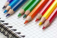 Assorted Stationery Items Royalty Free Stock Images