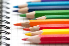 Assorted Stationery Items Stock Photo