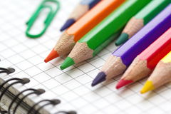 Assorted Stationery Items Stock Image