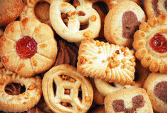 Assorted sugar cookies Royalty Free Stock Image