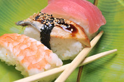 Assorted Sushi Royalty Free Stock Images