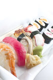 Assorted Sushi Platter Stock Images