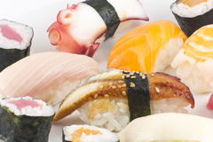 Assorted Sushi Platter Royalty Free Stock Images
