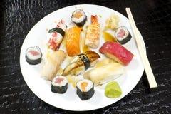 Assorted Sushi Platter Stock Image
