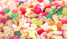 Assorted sweet background Royalty Free Stock Photography