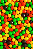 Assorted sweet jelly beans. Pile of colorful chocolate coated candy. Colorful image great for backgrounds Royalty Free Stock Photo