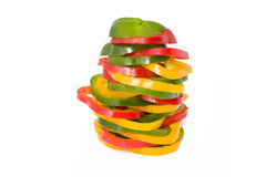 Assorted sweet peppers Royalty Free Stock Images