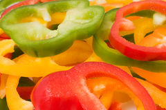 Assorted sweet peppers Royalty Free Stock Photos
