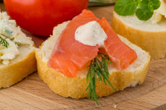 Assorted tapas Royalty Free Stock Image