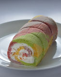 Assorted taste Sponge Cake Royalty Free Stock Image