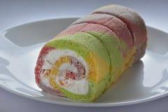 Assorted taste Sponge Cake Stock Photography