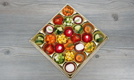 Assorted tasty vegetables Royalty Free Stock Photos