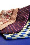 Assorted ties Stock Photo