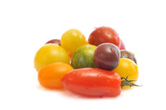 Assorted tomatoes Stock Image
