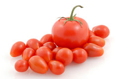 Assorted Tomatoes Stock Photography