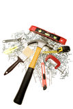 Assorted tools Stock Image