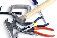 Assorted tools Royalty Free Stock Images
