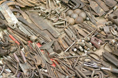 Assorted tools Royalty Free Stock Photo