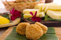 Assorted Tradisional malaysia cakes and deserts Stock Photography