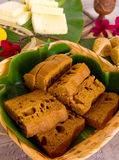 Assorted Tradisional malaysia cakes and deserts Stock Photos