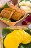 Assorted Tradisional malaysia cakes Stock Images