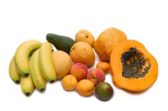 Assorted Tropical Fruits Royalty Free Stock Photography